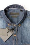 Μπλε πουκάμισο Jean Στοκ φωτογραφία με δικαίωμα ελεύθερης χρήσης