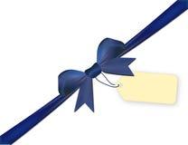 Μπλε που απομονώνεται σε ένα άσπρο υπόβαθρο με τη τιμή Στοκ εικόνες με δικαίωμα ελεύθερης χρήσης