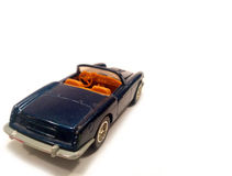 μπλε πολυτέλεια αυτοκινήτων Στοκ Εικόνες
