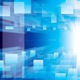 Μπλε προοπτικής Στοκ εικόνα με δικαίωμα ελεύθερης χρήσης