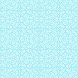 μπλε πρότυπο δαντελλών Στοκ εικόνες με δικαίωμα ελεύθερης χρήσης