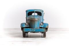 Μπλε πρότυπο φορτηγό Στοκ Εικόνες