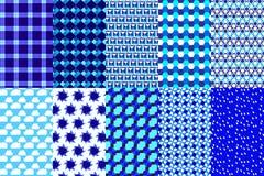 μπλε πρότυπο Στοκ εικόνες με δικαίωμα ελεύθερης χρήσης