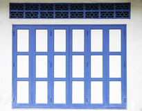 μπλε πόρτα παλαιά Στοκ εικόνες με δικαίωμα ελεύθερης χρήσης