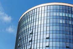 Μπλε πύργος γυαλιού Στοκ Εικόνα