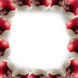 μπλε πλαίσιο Χριστουγένν στοκ φωτογραφία