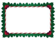 μπλε πλαίσιο Χριστουγέν&nu Στοκ εικόνες με δικαίωμα ελεύθερης χρήσης