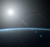 μπλε πλανήτης Στοκ Εικόνα
