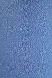 μπλε πλαστικό υπόβαθρο σύστασης Στοκ εικόνα με δικαίωμα ελεύθερης χρήσης