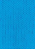 Μπλε πλεκτό υπόβαθρο Στοκ εικόνες με δικαίωμα ελεύθερης χρήσης