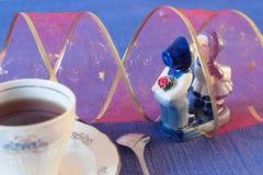 μπλε ρομαντικός Στοκ Φωτογραφίες