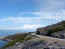 Μπλε δρόμος Στοκ εικόνες με δικαίωμα ελεύθερης χρήσης