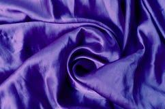 μπλε σατέν Στοκ Φωτογραφίες