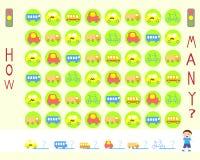 μπλε σειρά γρίφων παιχνιδιών γκρίζα Στοκ φωτογραφία με δικαίωμα ελεύθερης χρήσης