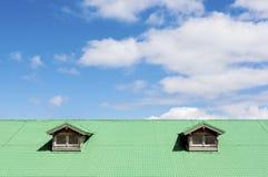 Μπλε σε πράσινο Στοκ Φωτογραφία