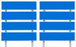 Μπλε σημάδι Στοκ Εικόνες