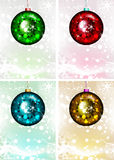 μπλε σκιά διακοσμήσεων απεικόνισης λουλουδιών Χριστουγέννων επίσης corel σύρετε το διάνυσμα απεικόνισης Χριστούγεννα εύθυμα Στοκ εικόνα με δικαίωμα ελεύθερης χρήσης