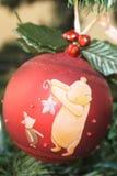 μπλε σκιά διακοσμήσεων απεικόνισης λουλουδιών Χριστουγέννων Στοκ Φωτογραφίες