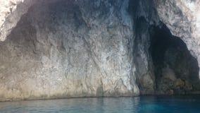 μπλε σπηλιά Στοκ Εικόνες