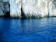 Μπλε σπηλιές, Ελλάδα Στοκ φωτογραφία με δικαίωμα ελεύθερης χρήσης