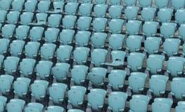 μπλε στάδιο καθισμάτων σχεδίου κόκκινο εσείς Στοκ φωτογραφίες με δικαίωμα ελεύθερης χρήσης