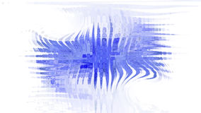 Μπλε σταγόνα στο άσπρο υπόβαθρο Στοκ φωτογραφίες με δικαίωμα ελεύθερης χρήσης