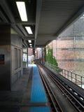 Μπλε σταθμός γραμμών Στοκ φωτογραφίες με δικαίωμα ελεύθερης χρήσης