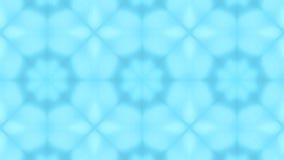 Μπλε συμμετρικό Floral υπόβαθρο καλειδοσκόπιων σχεδίων διανυσματική απεικόνιση