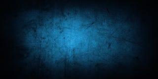 Μπλε συμπαγής τοίχος Στοκ Εικόνες
