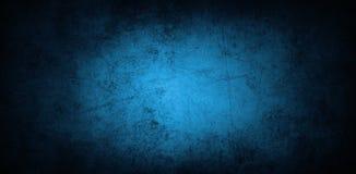 Μπλε συμπαγής τοίχος Στοκ Φωτογραφίες