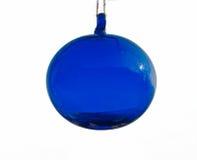 Μπλε σφαίρα γυαλιού Στοκ Φωτογραφία
