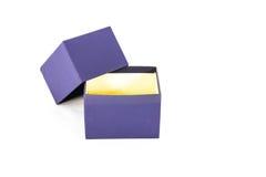 Μπλε σχέδιο κιβωτίων συσκευασίας Στοκ φωτογραφία με δικαίωμα ελεύθερης χρήσης