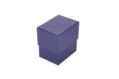 Μπλε σχέδιο κιβωτίων συσκευασίας Στοκ Φωτογραφίες
