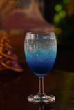 Μπλε σόδα λεμονιών στοκ φωτογραφία με δικαίωμα ελεύθερης χρήσης