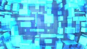 μπλε σύγχρονος ανασκόπησης Στοκ Εικόνα