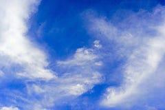 μπλε σύννεφων και ουρανού Στοκ εικόνες με δικαίωμα ελεύθερης χρήσης