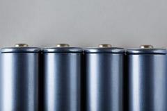 μπλε σύσταση μπαταριών ανασκόπησης Στοκ Εικόνα