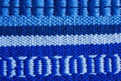 Μπλε σύσταση ταπήτων, υπόβαθρο Στοκ Εικόνες