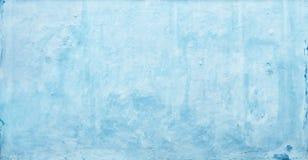 Μπλε σύσταση τοίχων Grunge Στοκ Φωτογραφίες