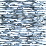 Μπλε σύσταση τυπωμένων υλών τιγρών Aqua Στοκ εικόνα με δικαίωμα ελεύθερης χρήσης
