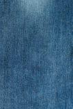 Μπλε σύσταση υποβάθρου Jean που απομονώνεται Στοκ Εικόνα
