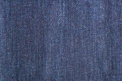 Μπλε σύσταση υποβάθρου Jean που απομονώνεται Στοκ Εικόνες
