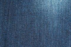 Μπλε σύσταση υποβάθρου Jean που απομονώνεται Στοκ εικόνες με δικαίωμα ελεύθερης χρήσης