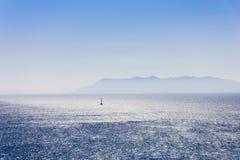 μπλε ταξίδι Στοκ εικόνα με δικαίωμα ελεύθερης χρήσης