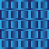 Μπλε τετράγωνα Στοκ Εικόνες