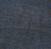 Μπλε τζιν Jean άνευ ραφής για τη σύσταση και το υπόβαθρο Στοκ Εικόνες