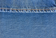 Μπλε τζιν Jean Στοκ εικόνα με δικαίωμα ελεύθερης χρήσης
