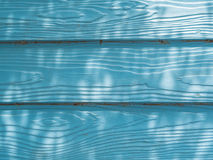μπλε τοίχος ξύλινος Στοκ εικόνα με δικαίωμα ελεύθερης χρήσης