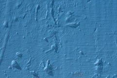μπλε τοίχος grunge Στοκ Φωτογραφία