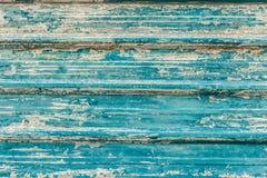 Μπλε τραχύ ζαρωμένο υπόβαθρο φύλλων μετάλλων Στοκ Εικόνες